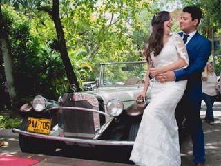El matrimonio de Laura y Esteban