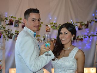 El matrimonio de Lo0rena y Yesid