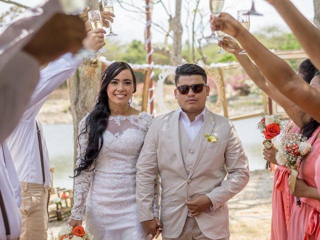 El matrimonio de Keyla y Albeniz