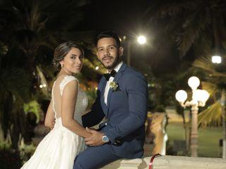 El matrimonio de Jennifer y Tivaldo