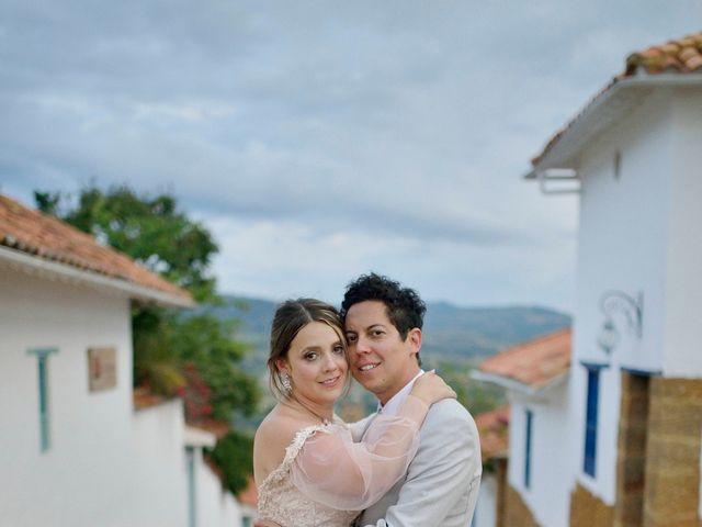 El matrimonio de Betey y Natu en Barichara, Santander 7