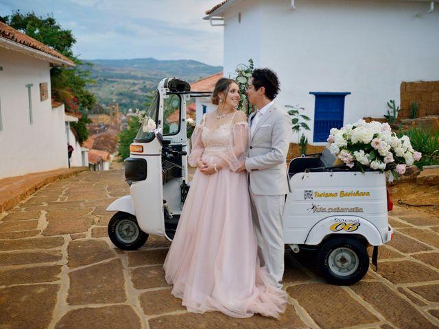 El matrimonio de Betey y Natu en Barichara, Santander 13
