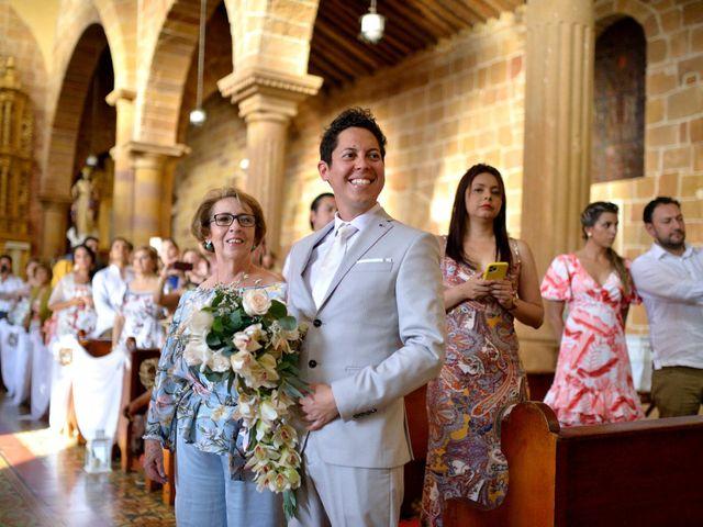 El matrimonio de Betey y Natu en Barichara, Santander 10