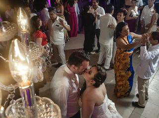 El matrimonio de Johanna y Raymond