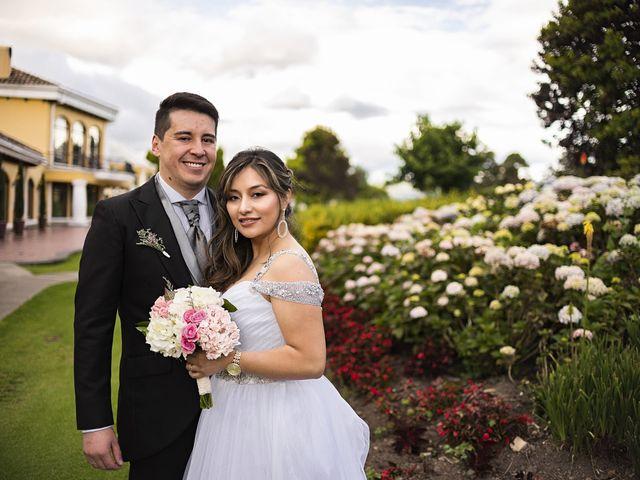 El matrimonio de Judy Andrea y Óscar Andrés