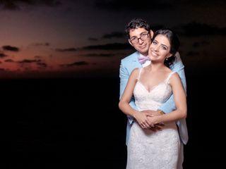 El matrimonio de Ximena y Luis