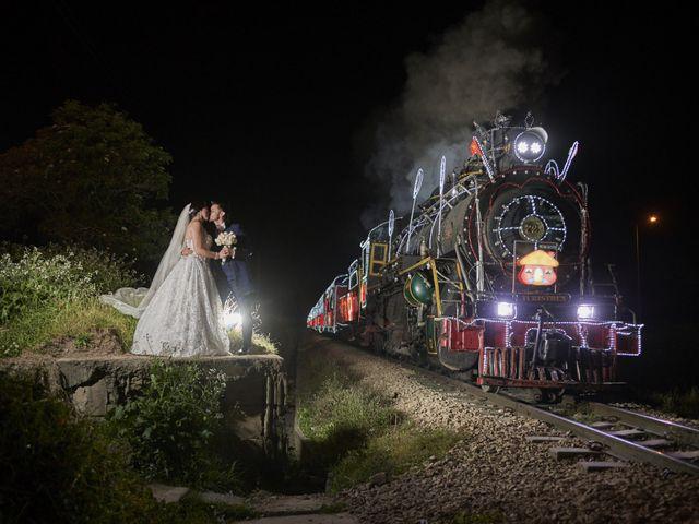 El matrimonio de Mile y Alejo
