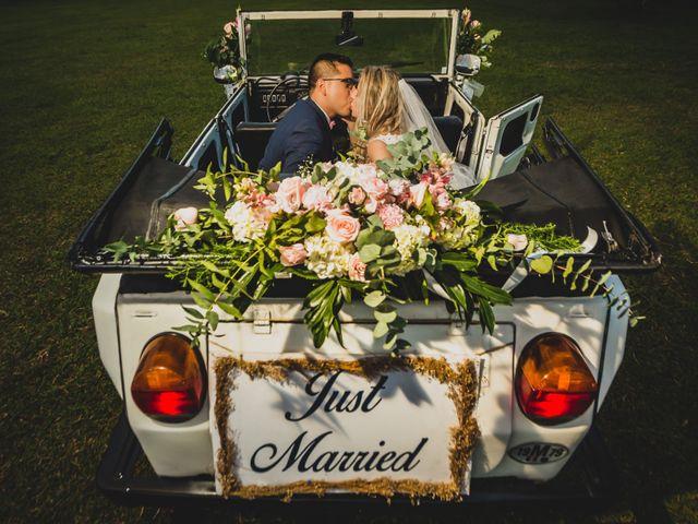 El matrimonio de Vanessa y Kevin