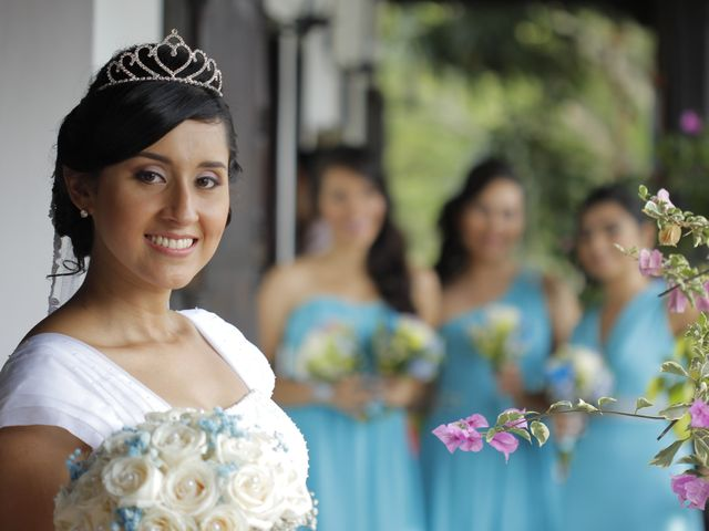 El matrimonio de Maria Alejandra y Hector