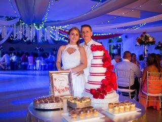 El matrimonio de Sandra y Elkin