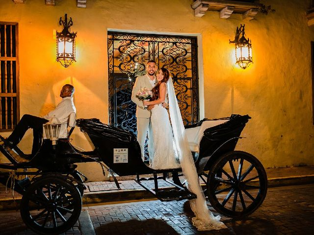 El matrimonio de Jhonatan  y Yesica  en Cartagena, Bolívar 8