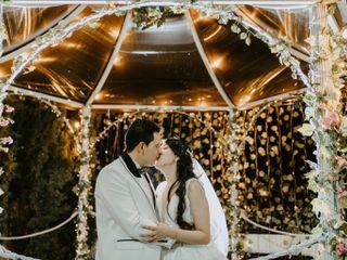 El matrimonio de Erika y Óscar Javier