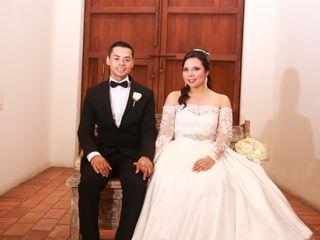 El matrimonio de Steici y Juan