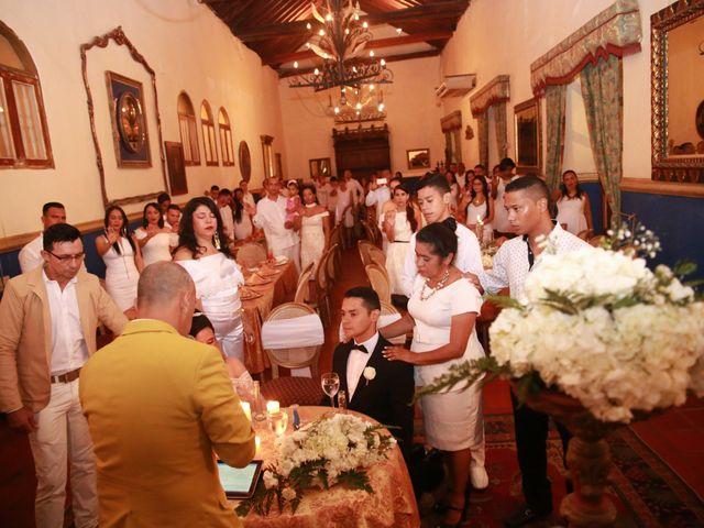 El matrimonio de Juan y Steici en Cartagena, Bolívar 1