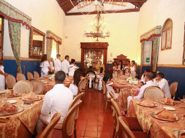 El matrimonio de Juan y Steici en Cartagena, Bolívar 4