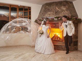 El matrimonio de Vivene y Mauricio