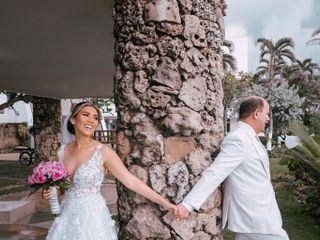 El matrimonio de Karen  y Carlos  1