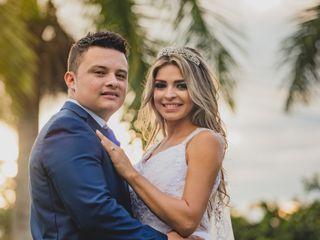 El matrimonio de Ángela y Rubén