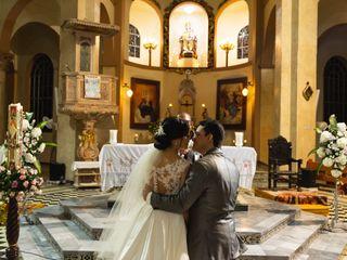 El matrimonio de Laura  y Luis