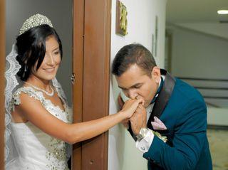 El matrimonio de Junelys  y Osvaldo