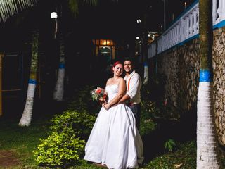 El matrimonio de Geraldine y Wilmer