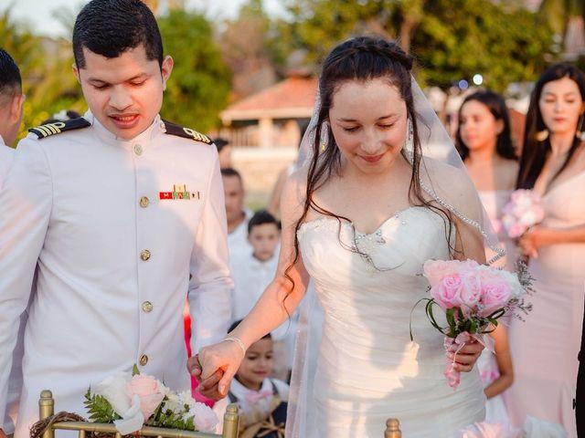 El matrimonio de Dixon y Dahianna en Santa Marta, Magdalena 9
