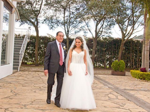 El matrimonio de Carlos y Nathalia en Subachoque, Cundinamarca 14