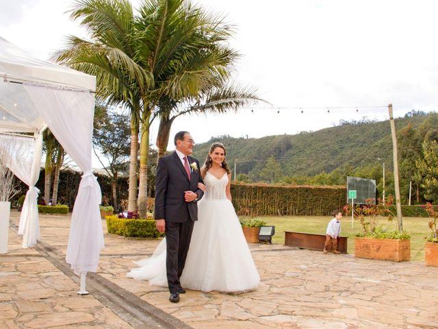 El matrimonio de Carlos y Nathalia en Subachoque, Cundinamarca 17