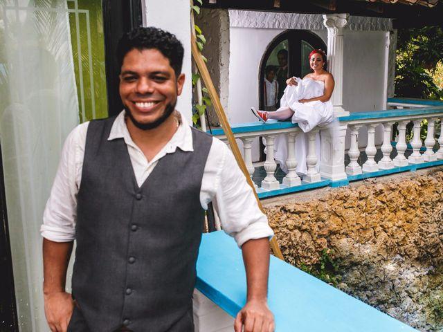 El matrimonio de Wilmer y Geraldine en Cartagena, Bolívar 3