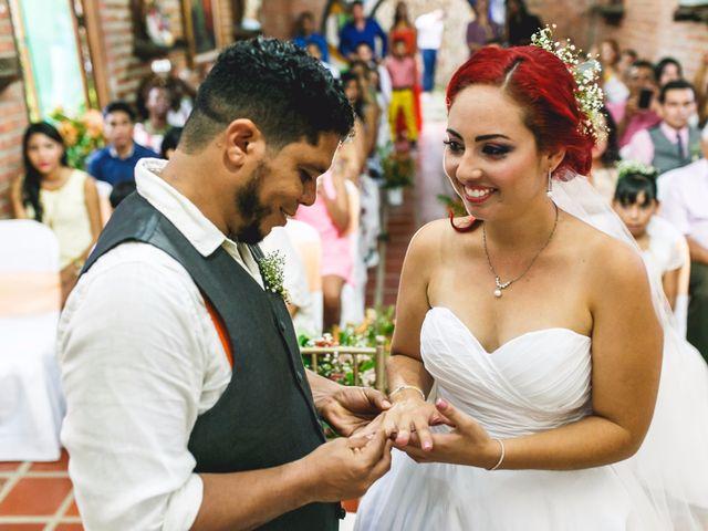 El matrimonio de Wilmer y Geraldine en Cartagena, Bolívar 1