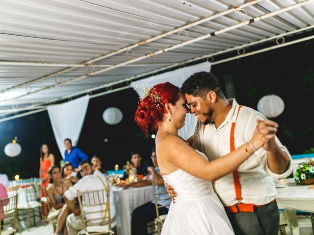 El matrimonio de Wilmer y Geraldine en Cartagena, Bolívar 2