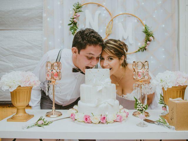 El matrimonio de María Fernanda y Niko
