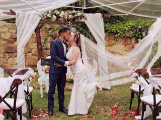 El matrimonio de Geraldin y Jairo