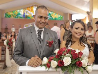 El matrimonio de María Cristina y Saúl