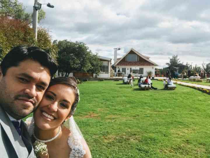 El matrimonio de Tata y Edwin