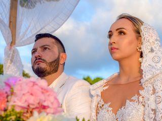 El matrimonio de Andrés y Valentina