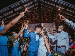 El matrimonio de Vannessa y Santiago