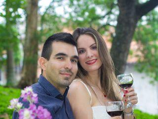 El matrimonio de Claudia y Santiago 1