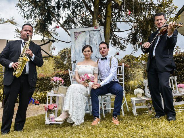 El matrimonio de Jairo y Elizabeth en Cogua, Cundinamarca 45