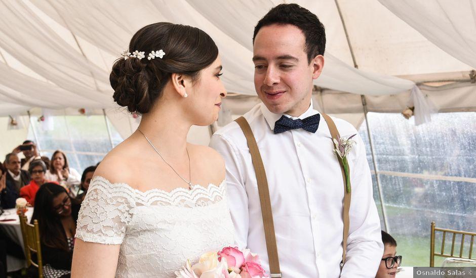 El matrimonio de Jairo y Elizabeth en Cogua, Cundinamarca