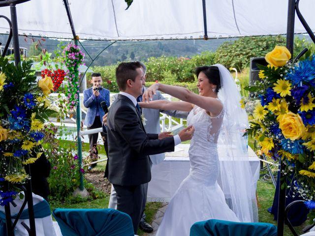 El matrimonio de Cristian y Tannia en Tenjo, Cundinamarca 27