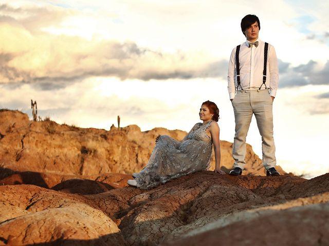 El matrimonio de Camila y Luis