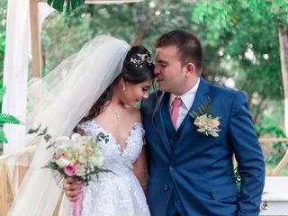 El matrimonio de Cristian y Tatiana