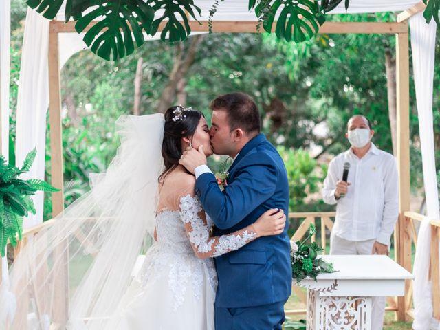 El matrimonio de Tatiana y Cristian en Santa Marta, Magdalena 23