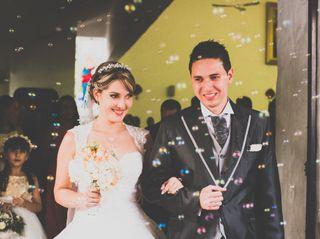 El matrimonio de Ana y Alex