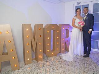 El matrimonio de Jennifer y Luis