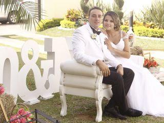 El matrimonio de Nathalia y Oscar