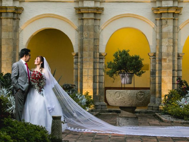 El matrimonio de Luz Dary Roa y Jhon Bermudez