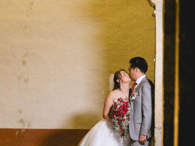 El matrimonio de Jhon Bermudez y Luz Dary Roa en Monguí, Boyacá 28