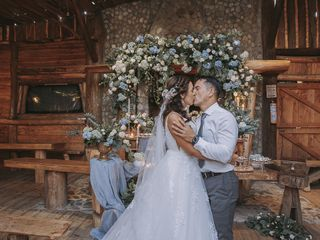 El matrimonio de Nataly y Álex